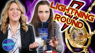 LIGHTNING ROUND! HARRY POTTER - What Do You Knowjo Game Show
