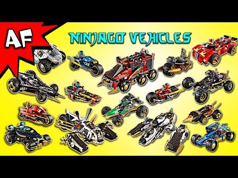 Every Lego Ninjago Ninja & Villian CARS / VEHICLES - Complet