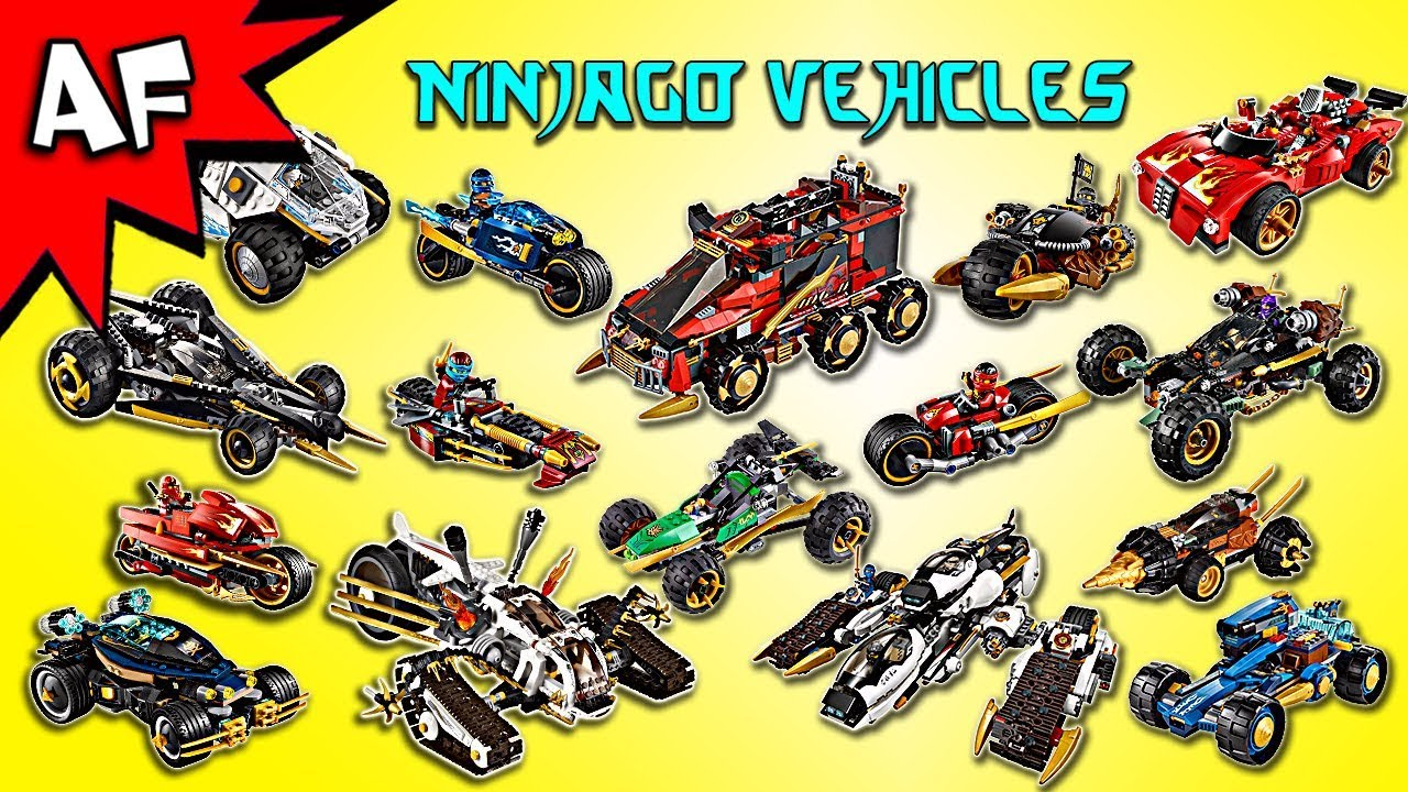 every lego ninjago ninja villian cars vehicles. Black Bedroom Furniture Sets. Home Design Ideas