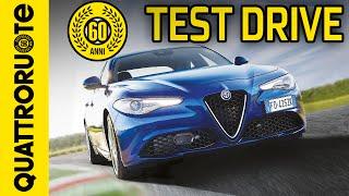 Alfa Romeo Giulia Super 2.2 JTDM 180 CV AM8 2016 Test Drive