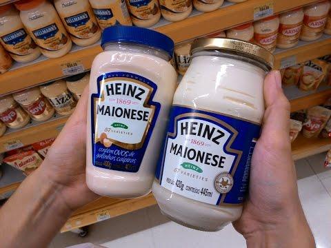 Comparando a Nova Fórmula da Maionese Heinz com a Antiga.