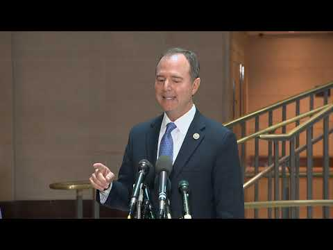 WATCH: Rep. Adam Schiff addresses reported whistleblower complaint against Trump