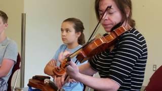 Winifred Horan Fiddle Workshop Dublin OH dt20160805