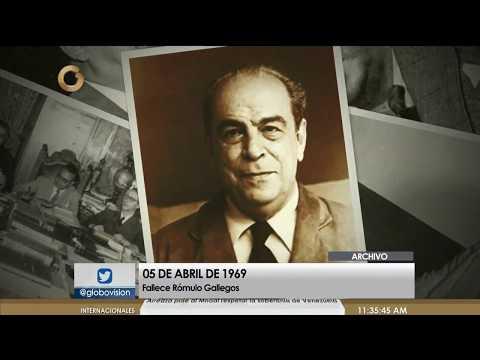 Rómulo Gallegos: El Presidente Más Votado Y El Novelista Venezolano Más Relevante Del Siglo XX