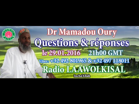 Dr. Mamadou Oury: Questions & Réponses #2 radio laawol kisal