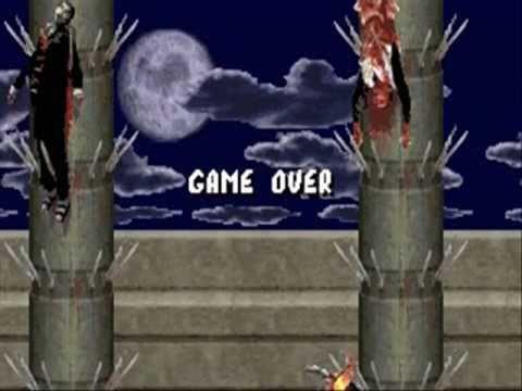 Mortal Kombat 1 PC DOS floppy and PC DOS CD comparison