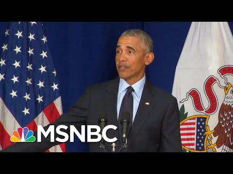 Barack Obama Blasts Donald Trump: 'How Hard Can It Be To Say Nazis Are Bad?' | The 11th Hour | MSNBC