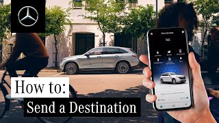 How to Send a Destination from Your Mobile Phone to Your Car