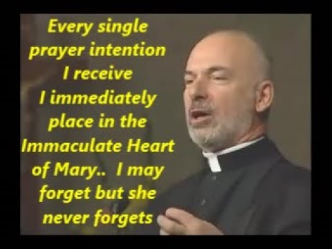 """I PLACE ALL OF YOU IN THE IMMACULATE HEART OF MARY"""