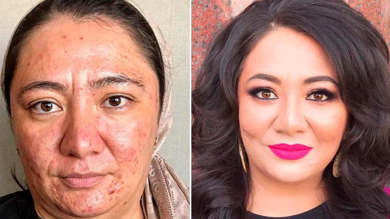 Amazing The power of makeup Makeup Transformations by Goar ...
