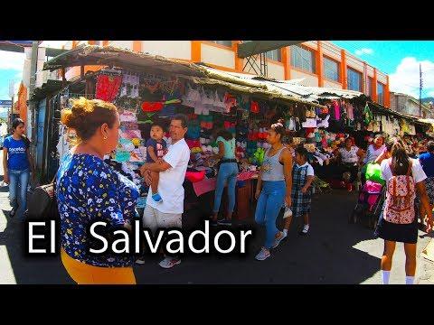 Streets Of El Salvador - Walk In Santa Ana 4K (1/2)