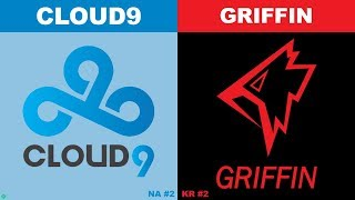 C9 vs GRF - Worlds 2019 Group Stage Day 4 - Cloud9 vs Griffin