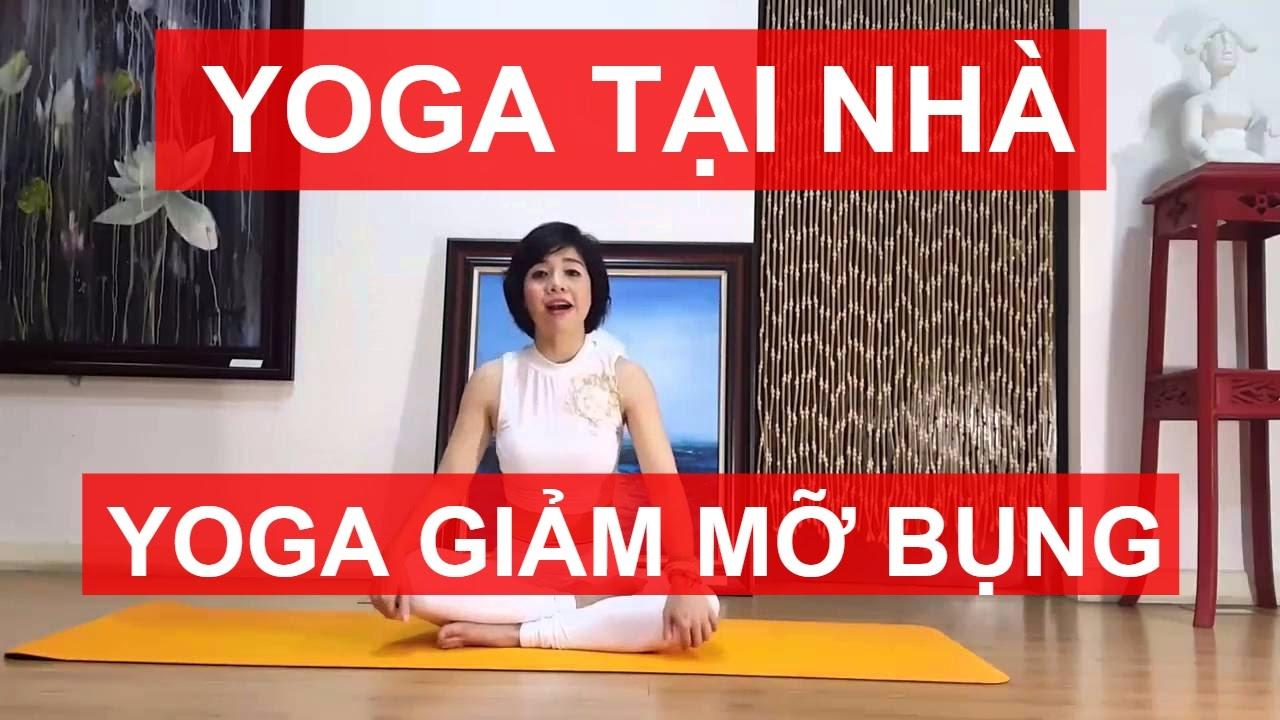 Yoga giảm mỡ bụng | Bài tập giảm eo hai bên, đánh tan mỡ bụng trước cùng Nguyễn Hiếu Yoga