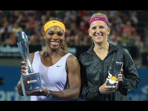 2014 Brisbane International Final WTA Highlights