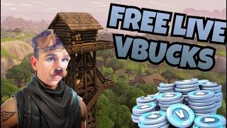 *FORTNITE LIVE* FREE VBUCK GIVEAWAY ON STREAM