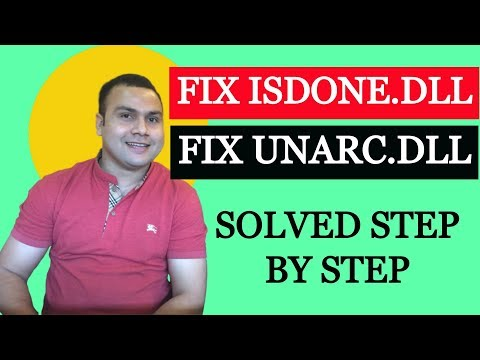 How To Fix ISDONE.DLL Error While Installing The Game | Fix Unarc.dll During Game Installation