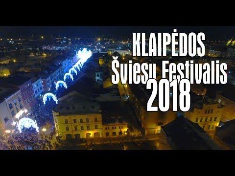 KLAIPĖDOS ŠVIESŲ FESTIVALIS 2018 - Vasario 15 || KLAIPEDA FESTIVAL OF LIGHTS