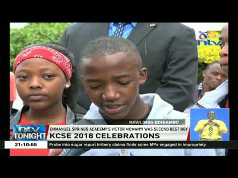 Top pupils,parents, and teachers celebrate KCPE results