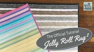 Official Jelly Roll Rug 2 Tutorial! Learn to Make the RJ Designs Jelly-Roll Rug 2 Pattern