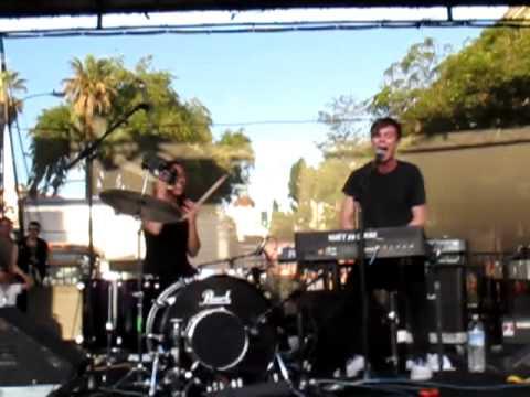 MATT AND KIM @ PASADENA MUSIC FESTIVAL-DAYLIGHT