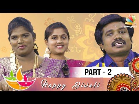 Madurai Muthu's Diwali Pattimandram 2016 - Part 2 | Aranthangi Nisha Comedy Speech