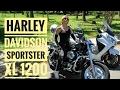 [Dia Internacional da Mulher] Harley-Davidson Sportster XL 1200