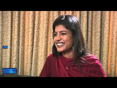 Nazriya Nazim talking to Indiavision