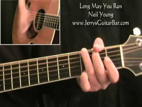 How To Play Neil Young Long May You Run (full lesson)