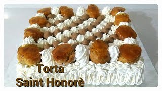 Torta Saint Honoré