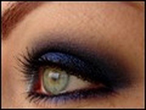 makeup tutorial blue monochrome smokey eyes magimania schminkanleitung review youtube. Black Bedroom Furniture Sets. Home Design Ideas