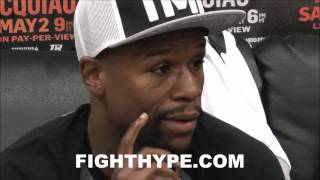 FLOYD MAYWEATHER SAYS TOP RANK ISN