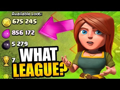 Clash Of Clans - I HIT THE JACKPOT! - WHAT LEAGUE IS THIS?