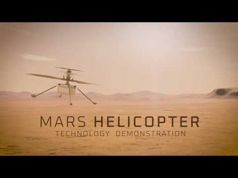 NASA's Mars Helicopter, Ingenuity (UHD Trailer)