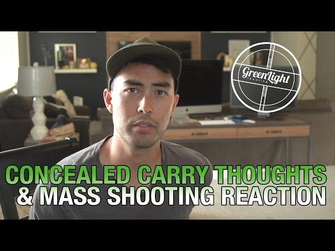 How My Thoughts on Concealed Carry Have Changed - Social Events Reaction