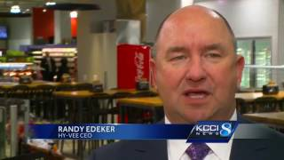 It's a big day for downtown Des Moines as neighbors finally get a g...