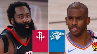 Houston Rockets vs. Oklahoma City Thunder [GAME 4 HIGHLIGHTS] | 2020 NBA Playoffs