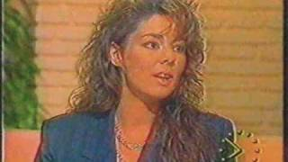 SANDRA - INTERVIEW - Good Morning Britain (1990)
