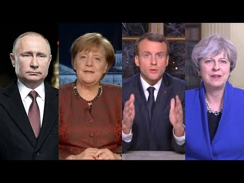 World leaders issue New Year's messages