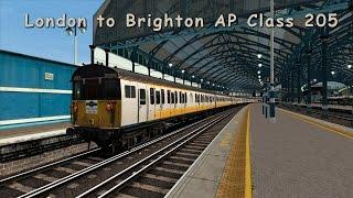 train simulator 2016 london to brighton ap class 205