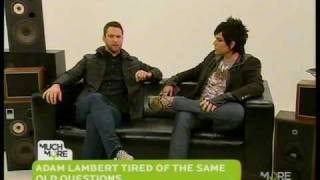 Adam Lambert on The Daily Fix (Part 2 of 2)