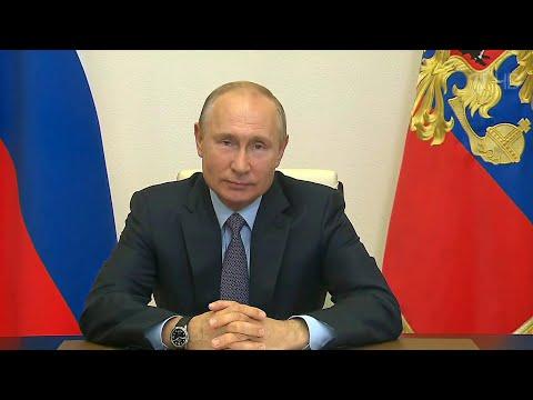 Владимир Путин провел специальное совещание в Международный день русского языка.