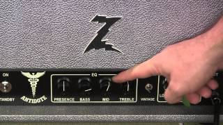 Dr Z Antidote 'get to know ya' session with RS Guitarworks Tele ( amp demo )