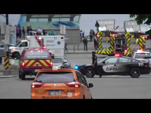 Major Emergency Response for Bus Accident - Vancouver BC