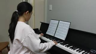 Alice Gao performing Chopin's Waltz in A minor