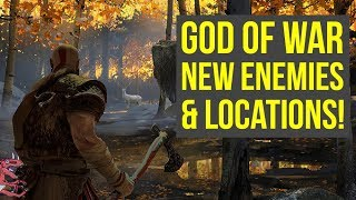 God Of War PS4 NEW ENEMIES & LOCATIONS SHOWN IN AMAZING ART! (God of War News - God of War 4 news)
