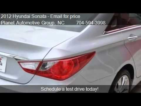 2012 hyundai sonata 2 4l limited pzev for sale in charlott youtube. Black Bedroom Furniture Sets. Home Design Ideas