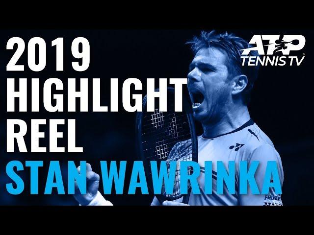 STAN WAWRINKA: 2019 ATP Highlight Reel