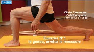 Yoga, arrêtez le massacre : vos genoux