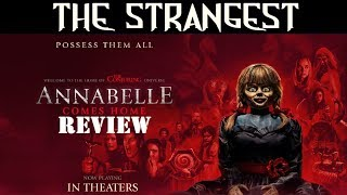 Annabelle Comes Home: The Strangest Horror Reviews