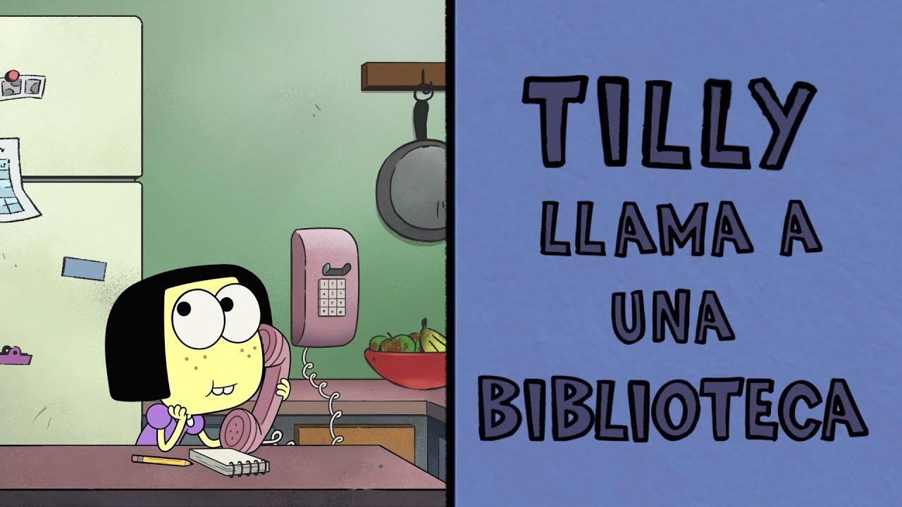 Tilly llama a una biblioteca | Llamadas al azar | Los vecinos Green